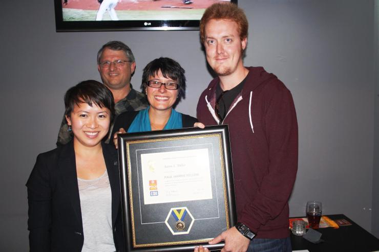 Aaron Miller Paul Harris Fellow Award