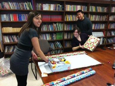 Christmas Gift Wrapping 2012