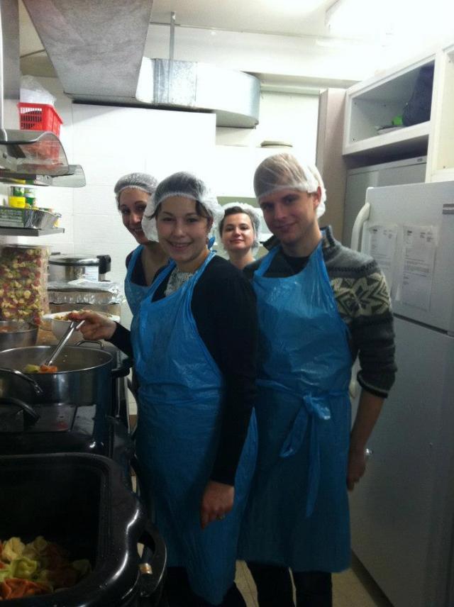 Fort York Food Bank 2 January 2013