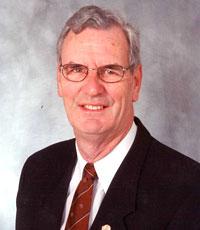 Dr. Robert Scott, Chair of PolioPlus.