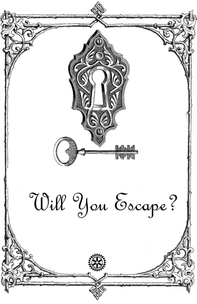 ESCAPE ROOM in place of the regular meeting Tuesday Feb 24th, 6:30 pm.